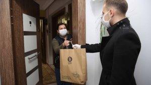 Covid hastası personele doğal ürünler jesti - Bursa Haberleri