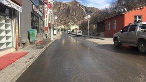 Çukurca sokakları boş kaldı