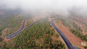 Derbent Aladağ yolu tamamlandı