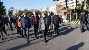 Diyarbakır'da hayat durdu ama hizmet durmadı