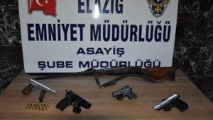Elazığ'da çeşitli suçlardan aranıp yakalanan 30 şüpheli tutuklandı