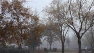 Eskişehir'in yüksek kesimlerinde sis hâkim