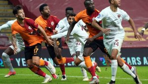 Galatasaray zirveyle puanları eşitledi