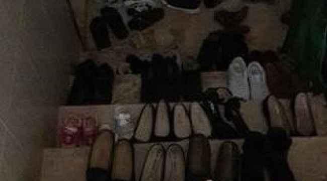 İhbar dönemi sonrası Antalya'da çekilen ayakkabı fotoğrafı sosyal medyada viral oldu