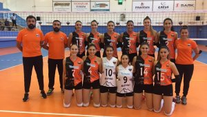 Kadınlar Voleybol 1. Ligi: Turkuaz Seramik OSB Teknik Koleji: 0 - TED Ankara Kolejliler: 3