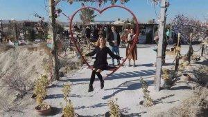 Kapadokya yabancı turistlere kaldı