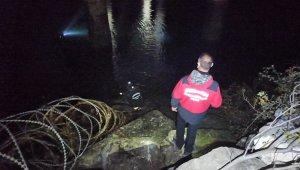 Köprüden baraj gölüne atlayan kadın bulunamadı