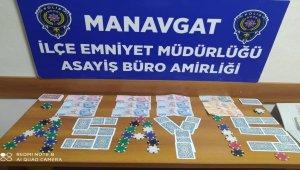 Manavgat'ta kumar oynayan ve yer sağlayan 12 kişiye 29 bin TL ceza