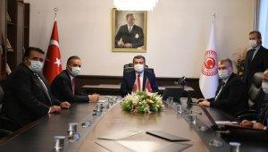 Milletvekilleri Ceylan ve Kaya, Sağlık Bakanı Koca'yı ziyaret etti