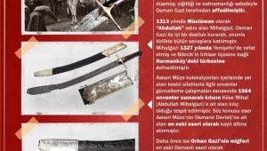 Osmanlı Devleti'ne ait bilinen en eski eser, Harbiye Askeri Müze ve Kültür Sitesi'nde