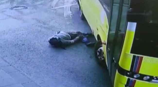Otobüsün altında kaldı, gitmemek için direndiği hastanede iç kanamadan öldü
