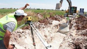 Şanlıurfa'da altyapı çalışmaları sürüyor