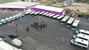 Şanlıurfa'da araç filosu güçlendiriliyor