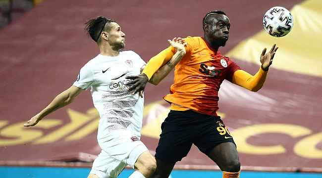Süper Lig: Galatasaray: 1 - Hatayspor: 0