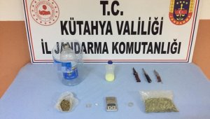 Tavşanlı'da uyuşturucu ticaretine 4 tutuklama