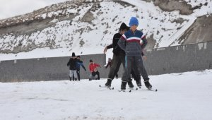 Türkiye'nin en yüksek krater dağında şampiyonaya hazırlık
