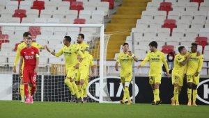 UEFA Avrupa Ligi: Sivasspor: 0 - Villarreal: 1