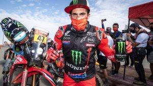 2021 Dakar Rallisi'nin şampiyonu Honda ile Kevin Benavides'in oldu