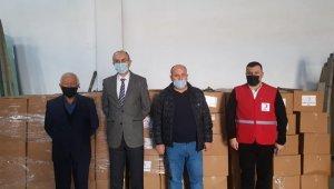 300 aileye gıda paketi dağıtılacak