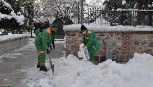 350 kişilik kar timi görev başında - Bursa Haberleri