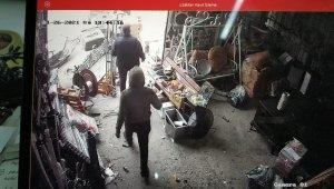 40 saniyelik hortum sanayi sitesini savaş alanına çevirdi - Bursa Haberleri