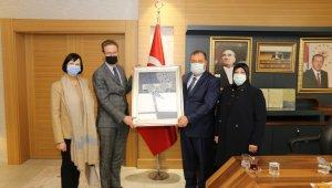 AB Türkiye Delegasyonu Başkanı Nikolaus Meyer-Landrut Kilis'te