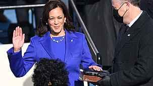 ABD Başkan Yardımcısı Kamala Harris Senatoda yemin ederek göreve başladı