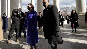 ABD'de Biden yemin töreni için Kongre binasına geldi