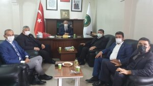 Adıyaman Ziraat Odaları İl Koordinasyon Kurulu Kahta'da toplandı