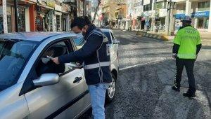 Adıyaman'da sokağa çıkma kısıtlaması uygulaması