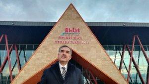 Ahlat'ın yeni otobüs terminal binası mimarisiyle bölgeye örnek olacak