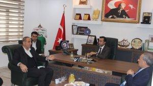 AK Parti Şırnak Milletvekili Birlik, Cizre TSO Başkanı Sevinç ile bir araya geldi