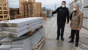 AK Partili Sürekli, ilçelerde yatırımları inceledi