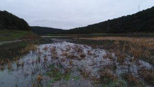 Alibeyköy Barajı dolmaya başladı