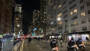 Amerika'daki Protestolara New York'tan tepki