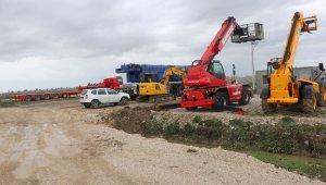 Arnavutluk'ta Türkiye'nin söz verdiği hastanenin yapımına başlandı
