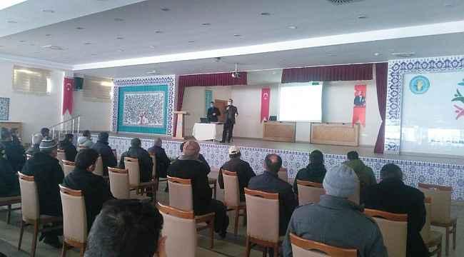Aslanapa ve Çavdarhisar'da eğitim ve tanıtım toplantıları