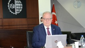 """ASO Başkanı Özdemir: """"İthal ettiğimizden daha fazla ihracat yapmamız, bunun için de daha fazla üretmemiz gerekiyor"""""""