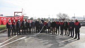 Aydın Büyükşehir Belediyesi'nin yangın söndürme tankeri dağıtımı sürüyor