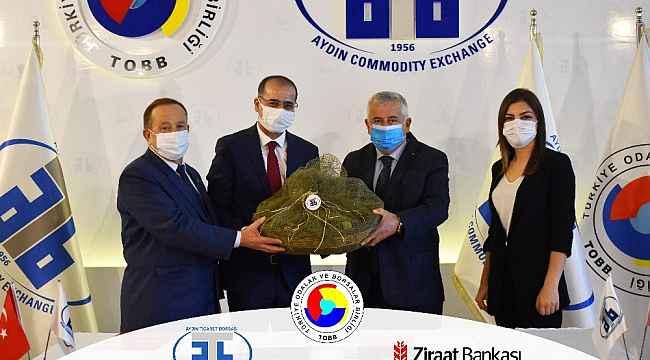 Aydın Ticaret Borsası ve Ziraat Bankası arasında protokol imzalandı
