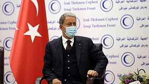 """Bakan Akar'dan Irak ziyareti sonrası açıklama: """"Önemli gelişmelere sebep olabilecek"""""""