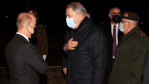 Bakan Akar Erbil'e hareket etti