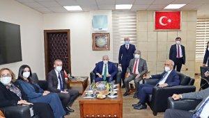 Bakan Elvan ve Binali Yıldırım'dan Başkan Gültak'a ziyaret