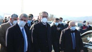 Bakan Kasapoğlu Çarşamba'da spor tesislerini inceledi