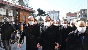 Bakan Kasapoğlu, Hafız Niyazi Kasapoğlu'nun cenazesine katıldı