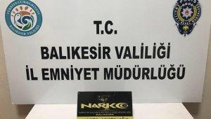 Balıkesir'de polis uyuşturucu 13 şüphelisini yakaladı