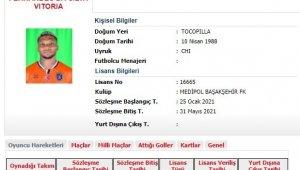 Başakşehir'de Fernandes'in lisansı çıktı