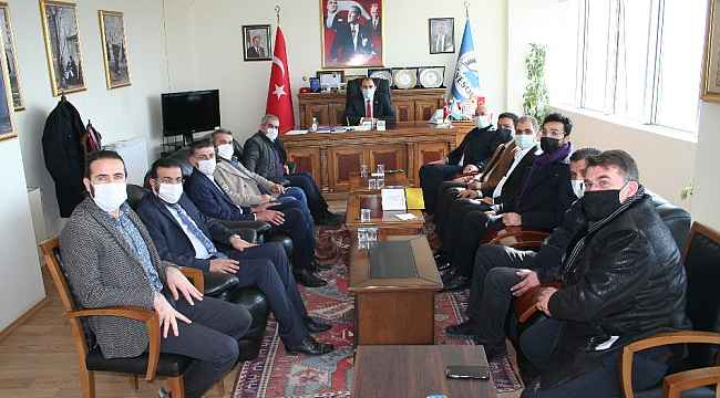 """Başkan Berge: """"Kapıköy'ün açılması Van için hayati önemdedir"""""""