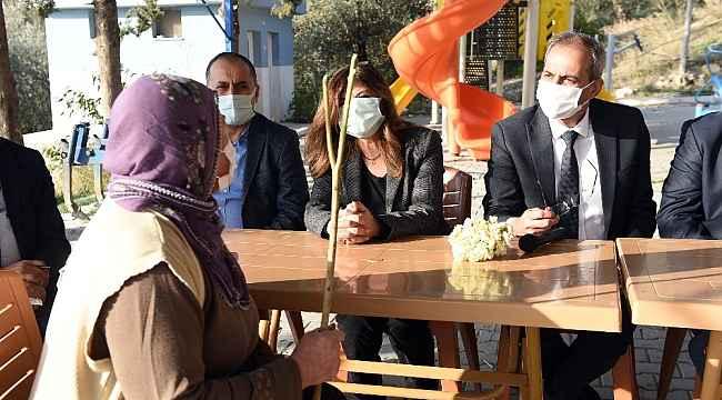 Başkan Bozdoğan, bir günde 13 mahalle gezdi