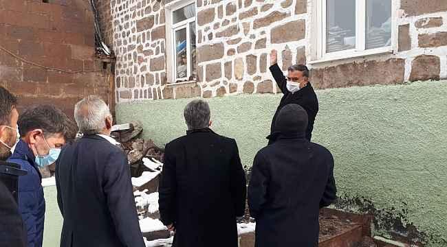 Başkan Cabbar ve Büyükşehir ekipleri Yeşilyurt Camiinde incelemelerde bulundu
